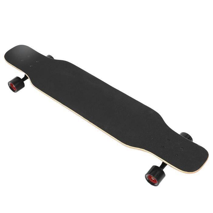 HURRISE planche à roulettes en érable Longboard professionnel en bois d'érable Freeride Longboard Forte Chargement Antidérapant