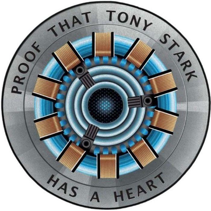 Tapis de sol Iron Man Marvel - Arc Reactor