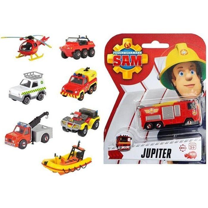 Dickie 203091000 Sam le pompier, assortiment de véhicules, 1 pièce
