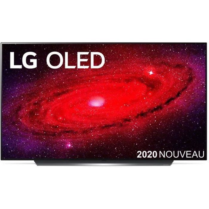 "TV LG OLED55CX 4K UHD 55"" Smart Noir 2020"