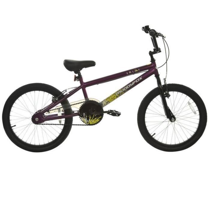 velo bmx enfant 20 pouces modele muddyfox splat prix pas. Black Bedroom Furniture Sets. Home Design Ideas