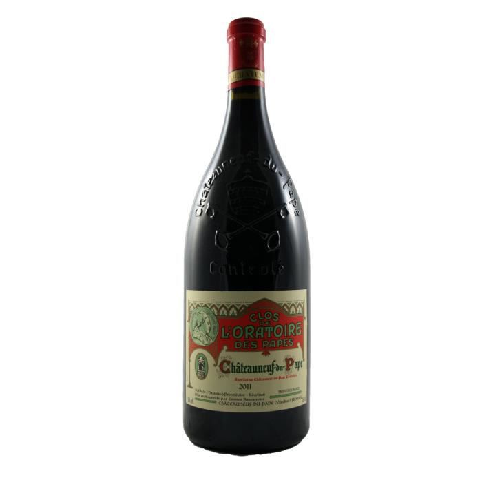 magnum ch teauneuf du pape clos de l 39 oratoire des papes rh ne 2013 150cl vin rouge achat. Black Bedroom Furniture Sets. Home Design Ideas