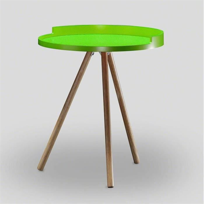 Table d 39 appoint scandinave vert achat vente table d - Table d appoint scandinave ...