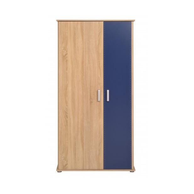 campus armoire royal blue taille 181 x 90 x 50 cm. Black Bedroom Furniture Sets. Home Design Ideas