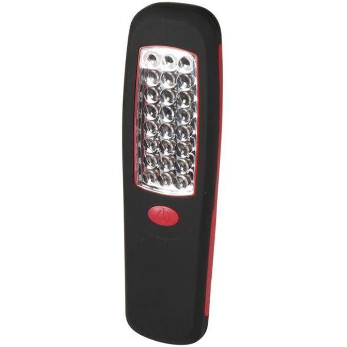 Expert Line Torche Plate Magnetique 24 Led Avec Crochet Achat Vente Lampe De Poche Torche 24 Led Avec Crochet Cdiscount