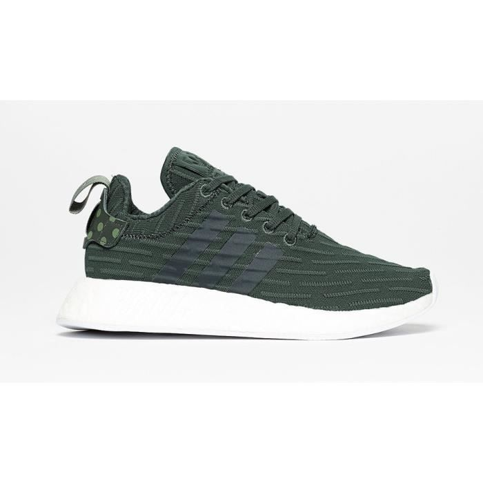 Basket ADIDAS NMD-R2 W - Age - ADULTE, Couleur - VERT, Genre - HOMME, Taille - 43 1-3