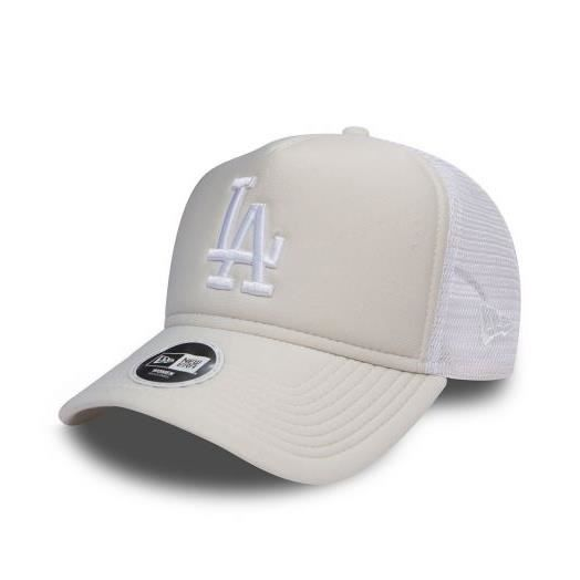 Casquette Trucker Femme New Era Los Angeles Dodgers Essential Truck Sand  Beige a2ae465f29