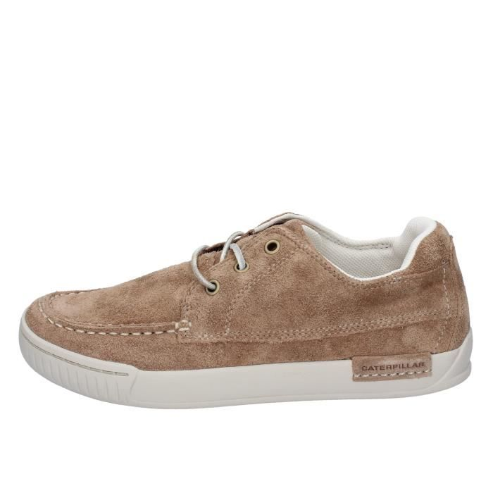 Chaussures Caterpillar Baskets Homme Cat Bt557 Beige Daim pzqRxn8