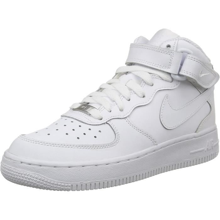 Chaussure Nike Air Force 1 High Blanche Homme AF1 Airforce One Basket Femme Mixte