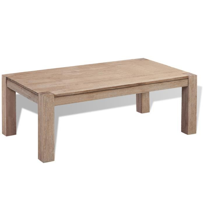 Table console extensible bois massif achat vente table console extensible - Table en acacia massif ...