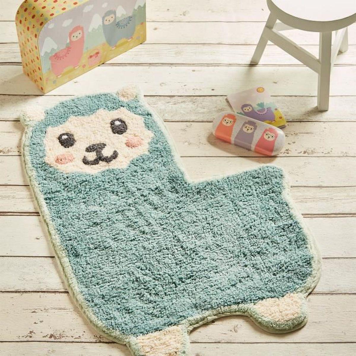 Tapis Chambre Bébé Mixte tapis pour chambre d'enfant lama