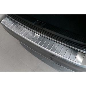 Protection de seuil de chargement pare-chocs pour Passat B6 Variant 2005-2010 en acier inoxydable chrom/é.