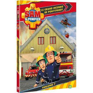 DVD DESSIN ANIMÉ DVD Sam le pompier, vol. 7 : grand incendie de ...