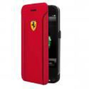 Ferrari étui Folio FIORANO Power PU rouge pour APPLE IPHONE 6/6S