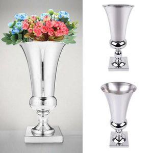 VASE - SOLIFLORE Vase à Fleurs en Placage Fer Grand 40cm - Ø 140mm