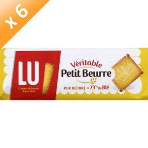 BISCUIT AUX FRUITS [LOT DE 6] Véritable Petit Beurre 400g