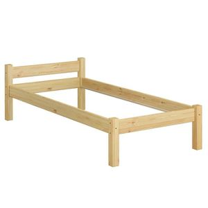 STRUCTURE DE LIT 60.36-09oR lit solide en pin massif naturel, lit e