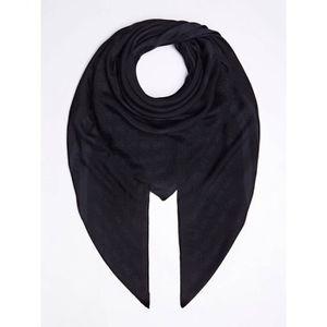 ECHARPE - FOULARD Guess - Foulard carré noir femme en viscose (aw817
