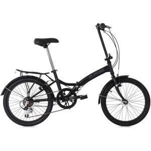 VÉLO PLIANT Vélo pliant 20'' FOLDTECH noir 6 vitesses KS Cycli