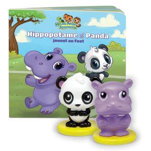LIVRE INTERACTIF ENFANT LEAPFROG Les Petits Apprentis : Panda et Hippo + L