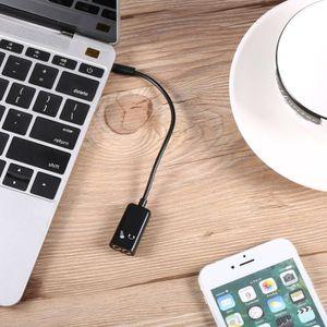 ADAPTATEUR AUDIO-VIDÉO  répartiteur audio séparateur de 3,5 mm Adaptateur