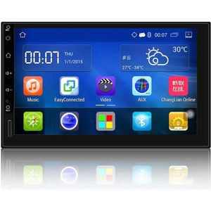 "AUTORADIO 7"" Android 5.1 Autoradio GPS Bluetooth Navigation"