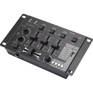 TABLE DE MIXAGE Tables de mixage DJ Renkforce MX26USB DJ-20
