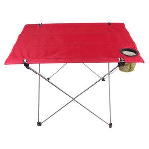 MEUBLE DE CAMPING MEUBLE DE CAMPING Table pliable 1 pièce