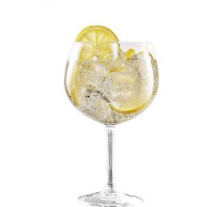 Verre à vin Lot de 6 verres à cocktail gin tonic - 70 cl