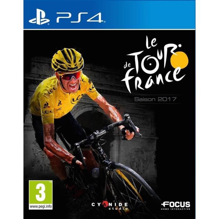 tour de france 2017 jeu ps4 achat vente jeu ps4 tour. Black Bedroom Furniture Sets. Home Design Ideas