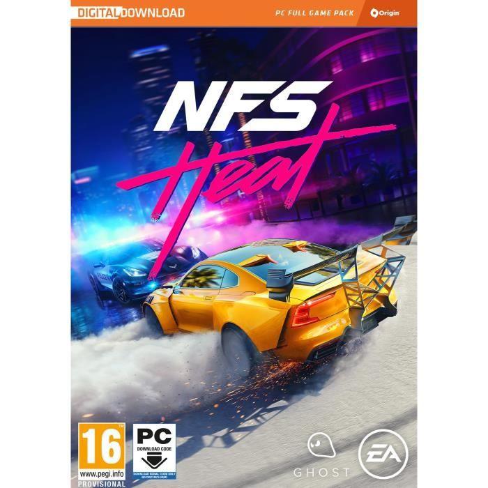 JEU PC NOUVEAUTÉ Need For Speed Heat Jeu PC à télécharger