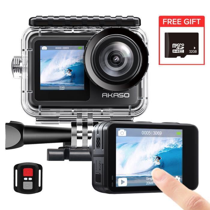 KINGSLIM D2 Caméra Voiture Dashcam Voiture 2.5K 1440P Avant et Arrière 170° Grand Angle Capteur-G Surveillance 24 Heures Noir