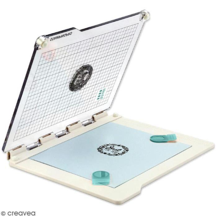 Presse de précision pour tampons transparents StampingPro - A5