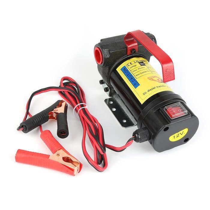 12V kit de Pompe de Transfert de Carburant,Fluide Auto Obturant Pistolets Automatiques Ensemble,175W,PVC+acier®HOMBUY