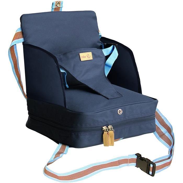 roba Siège gonflable portable pour enfant Sert de rehausseur de siège Commode en voyage