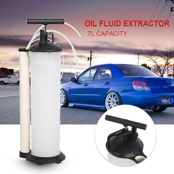 Kit de vidange moteur pompe aspiration huile liquide manuelle machine vidange carburant vide automobile voiture 7L -SIE