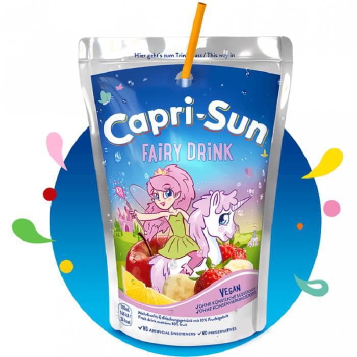 Capri Sun Fairy Drink
