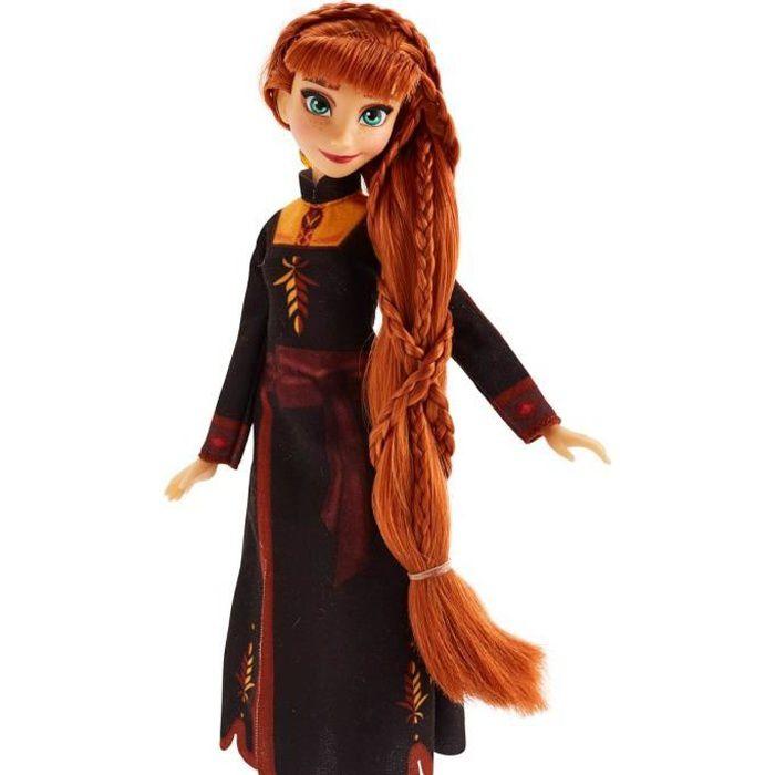 Disney La Reine des Neiges 2 - Poupee mannequin Coiffure Anna