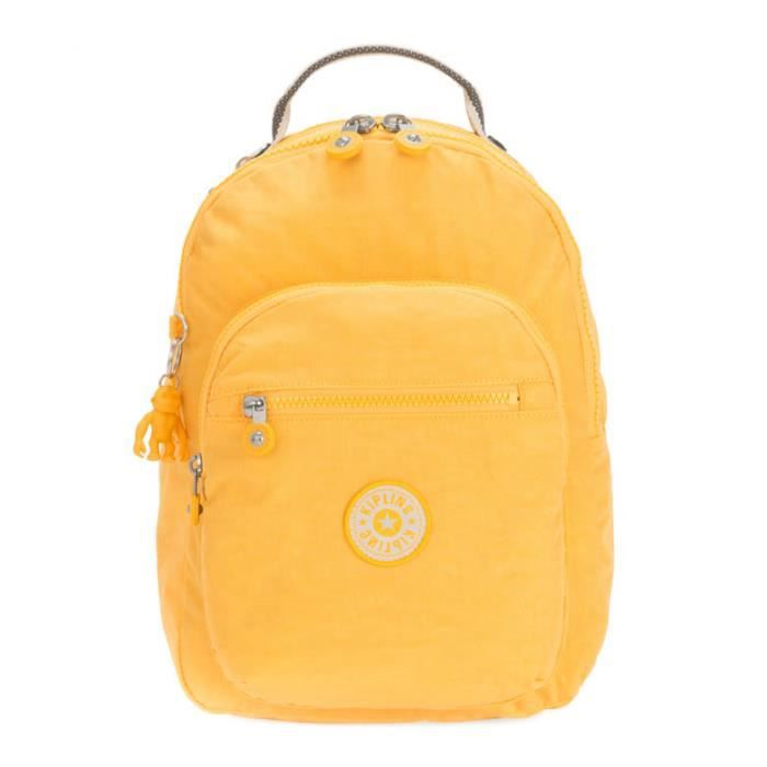 kipling Basic Seoul Backpack S Vivid Yellow [88012]