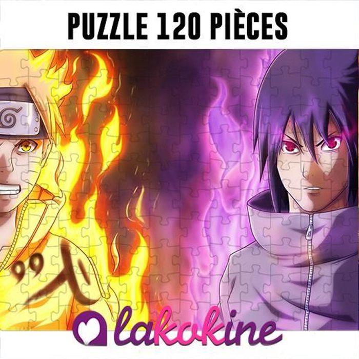 Puzzle 120 Pièces Naruto et kakashi anime