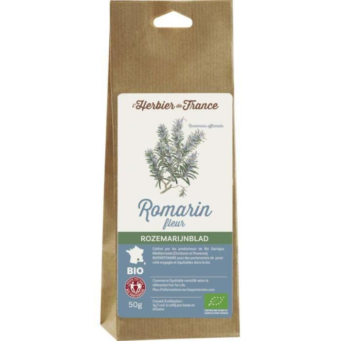Romarin feuilles sachet 50gr