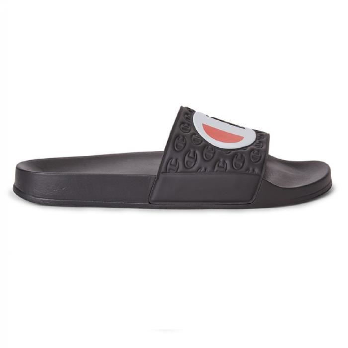 Sandale Champion Slide Multi Lido Noir