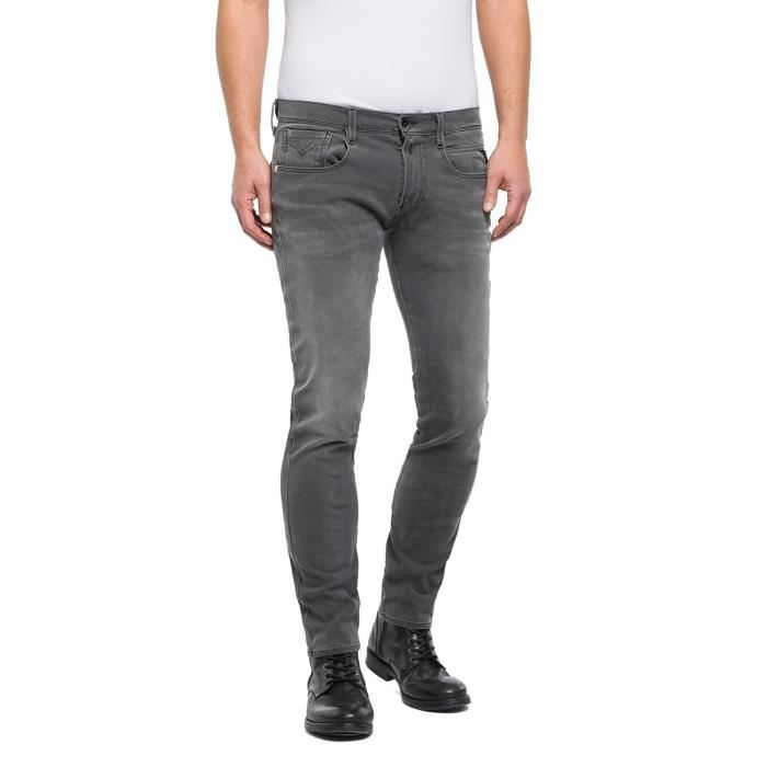 Replay Jeans Gris Homme M914.000.661S08-010