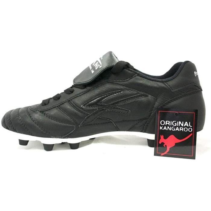 King Chaussures de Football Kangourou Fg Noir 46