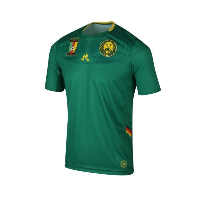 Maillot Cameroun Domicile 2019/20 100 % Polyester