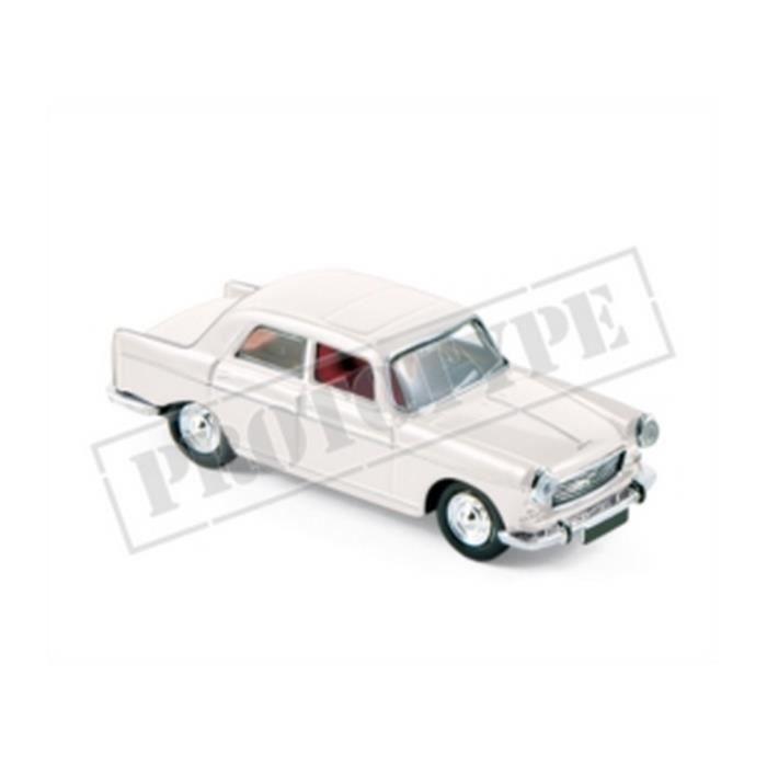 Véhicule Miniature assemble - Peugeot 404 Blanc 1968 1-87 Norev