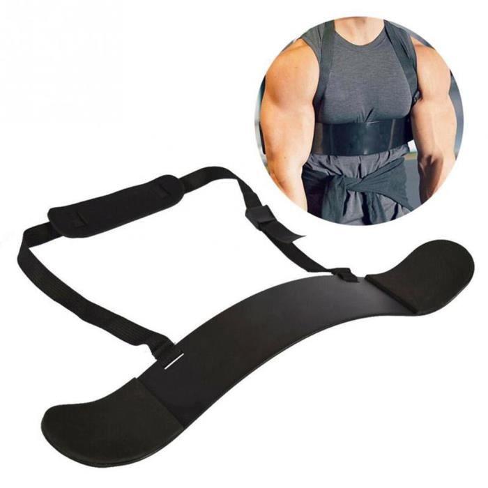 Biceps Training Board, Léger Petite Taille Durable Biceps Bras Avant-Bras Formation Board Barbell Haltère Accessoire de Fitness