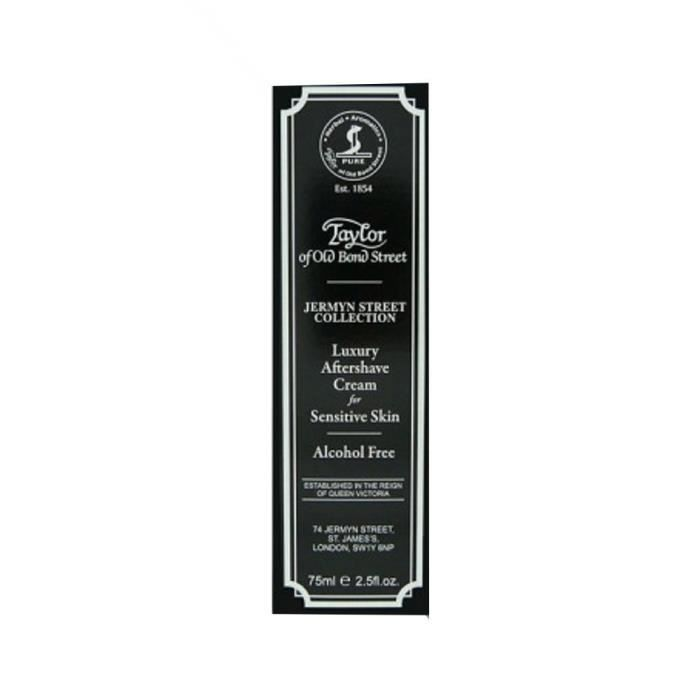 Taylors Jermyn Street Collection Luxury Aftershave Cream for Sensitive Skin (75 ml): Hygiène et Soins du corps