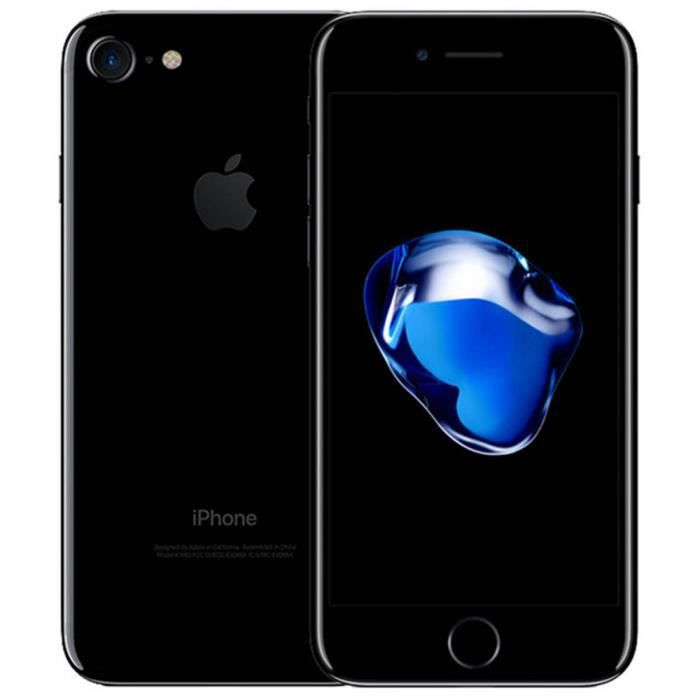 APPLE iPhone 7 32go Noir Brillant - Achat smartphone recond. pas ... 68afb9b697d1