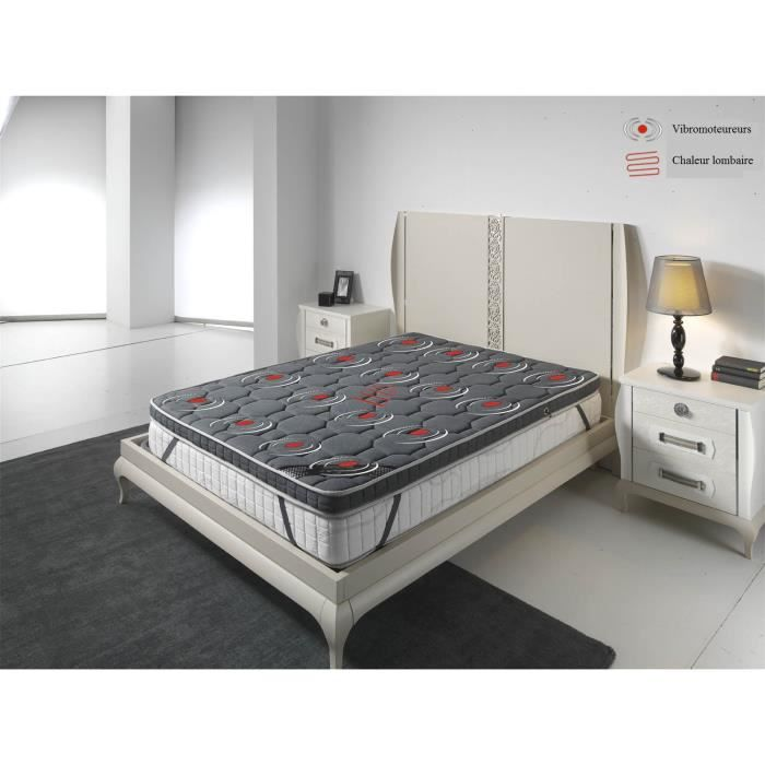 sur matelas de luxe de massage 3d 70x190 achat vente. Black Bedroom Furniture Sets. Home Design Ideas